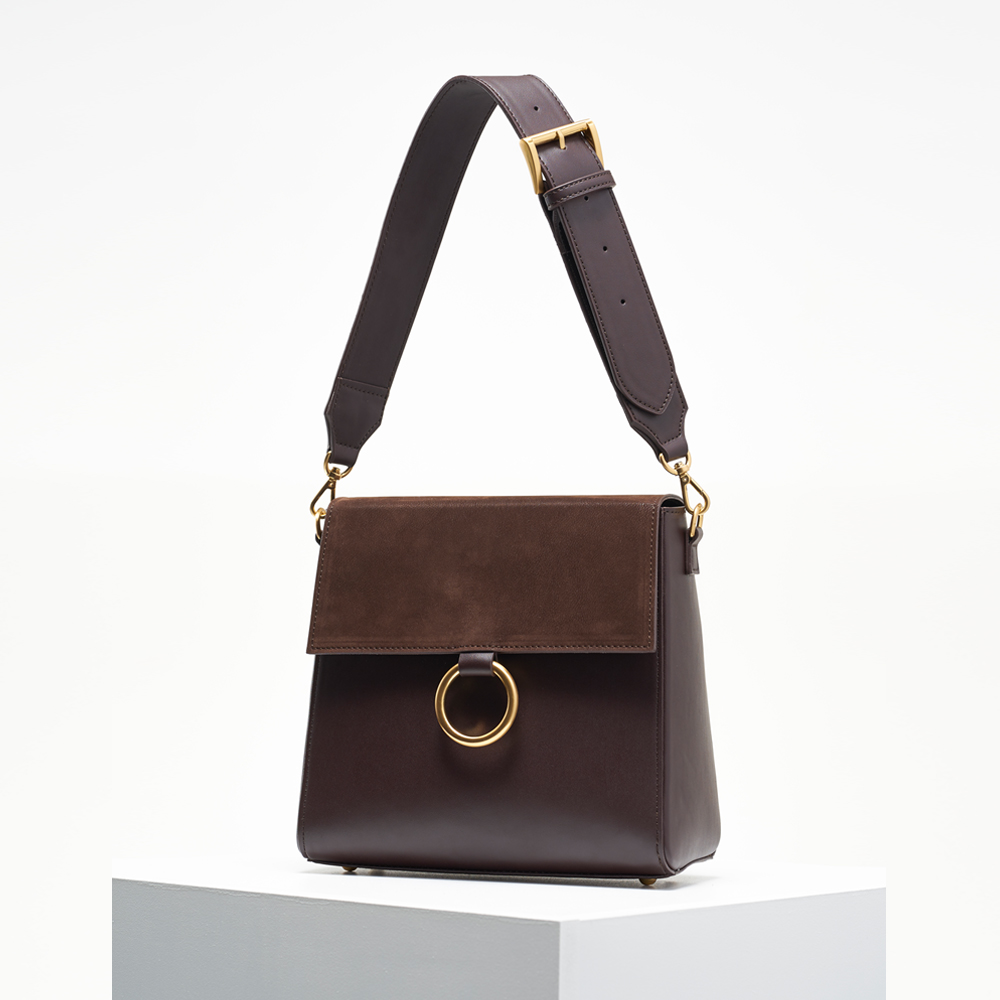 Two strap bag ver.2_brown