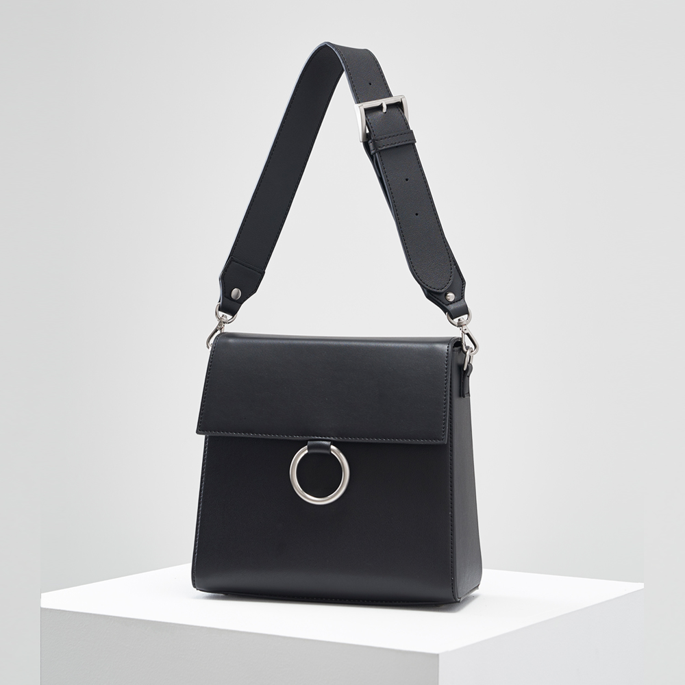 Two strap bag_Zet black