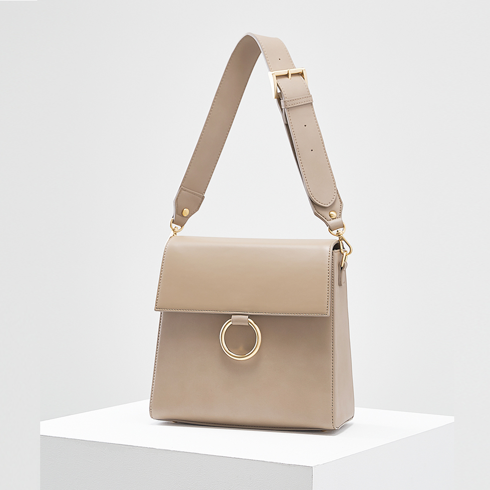 Two strap bag_beige