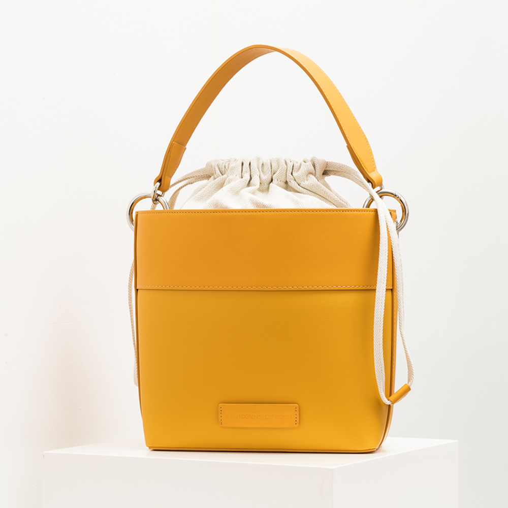 New bucket bag_yellow